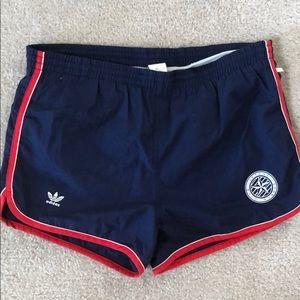 Adidas vintage men's swim trunks size L